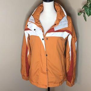 Columbia Vertex Orange Jacket Size Medium